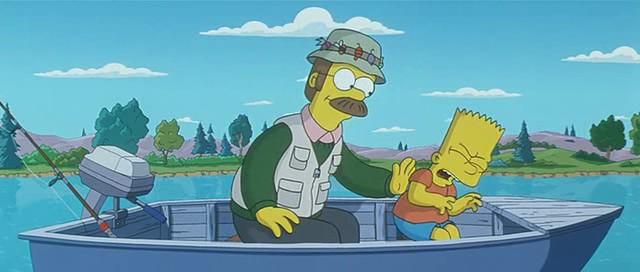Simpson Movie Catholic Kermit