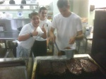ribs @ Mid West food night @ St John Vianney College Seminary, Miami, FL