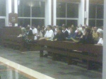 Miami vocation monstrance pilgrimage @ St John Vianney College Seminary, Miami, FL