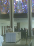 Serra Club alter server Mass @ St John Vianney College Seminary, Miami, FL