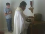 Pre-Theology backyard Mass @ St John Vianney College Seminary, Miami, FL