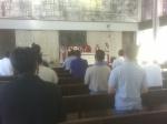 Mass @ St John Vianney College Seminary, Miami, FL