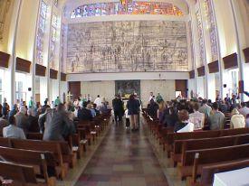 St Raphael Chapel mural @ SJVCS